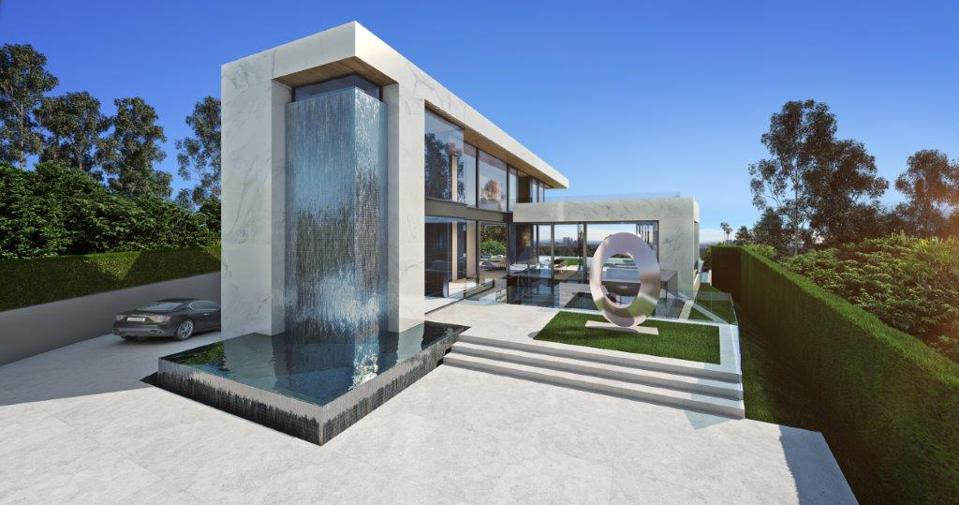 paul mcclean designed house 1210 laurel way beverly hills
