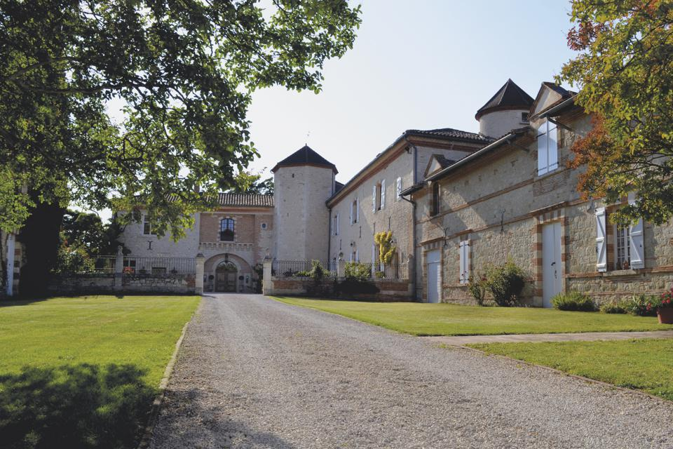 A 16th-century chateau near the village of Gimont in southwestern France