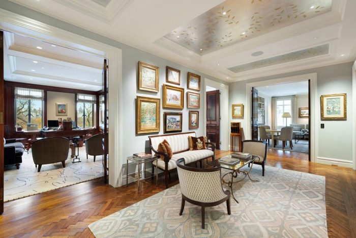 former upper west side apartment of david solomon goldman sachs