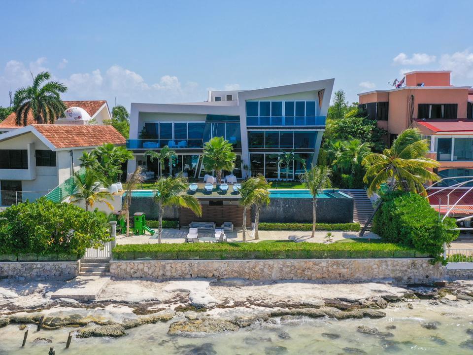 casa en mar in cancun