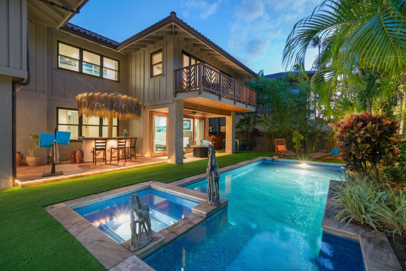 pool house in portlock honolulu hawaii