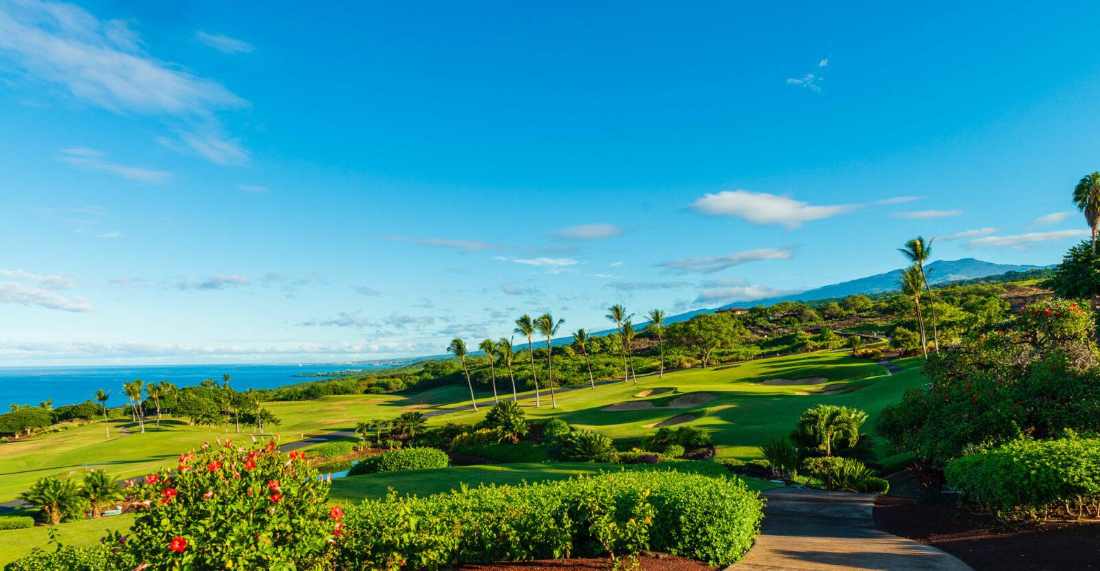 hokulia fall kona coast big island hawaii