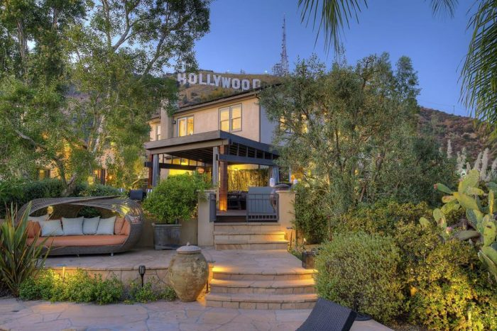 styx tommy shaw former house hollywood hills los angeles