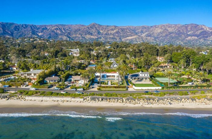 luxury home at 1150 channel drive butterfly beach montecito