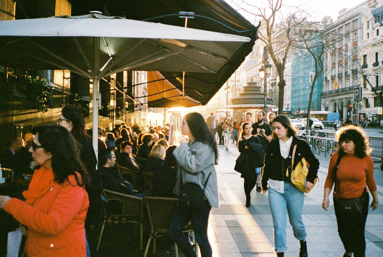 madrid market shops spain