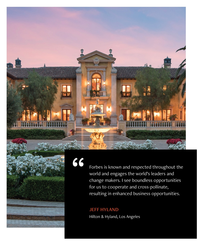 Sign up for the latest luxury real estate news and insider's insights from Forbes Global Properties