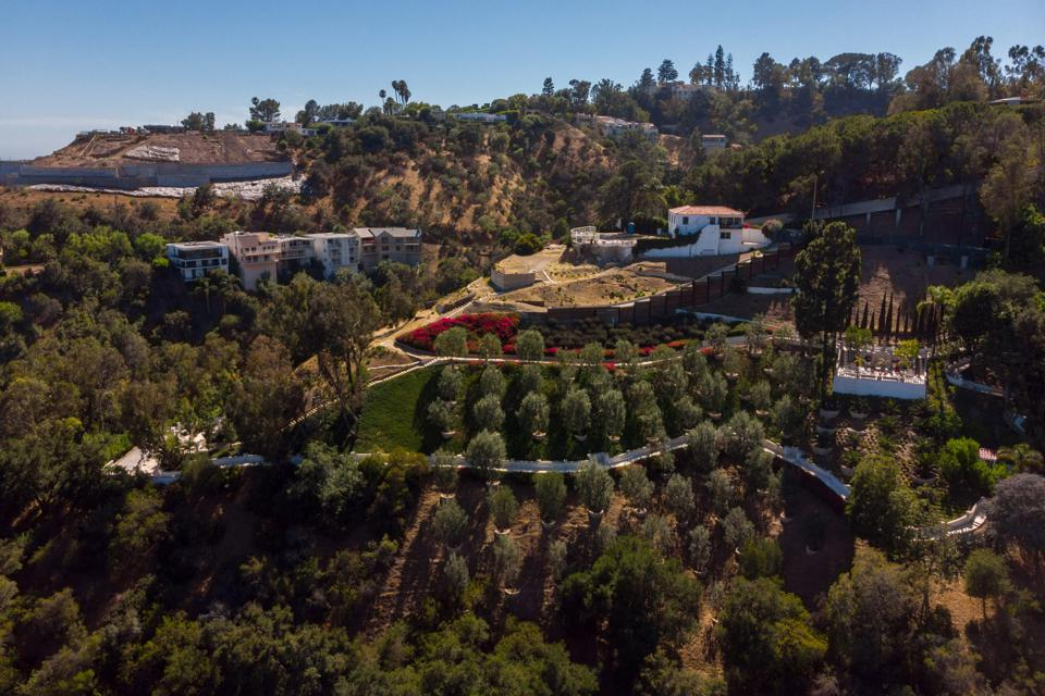 rudolph valentino's old estate in beverly hills