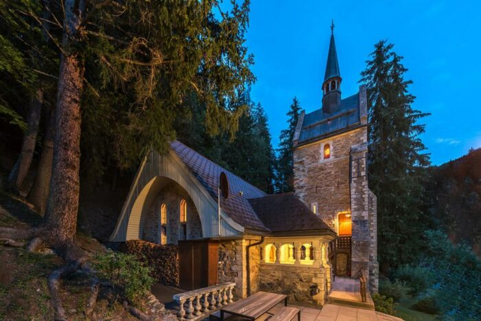 church turned luxury home in switzerland