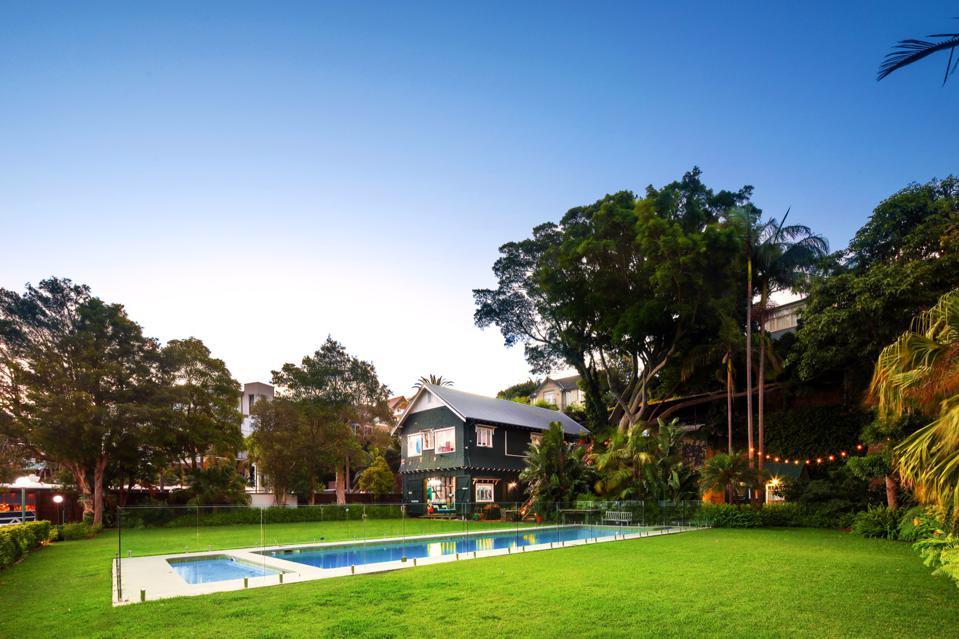sydney deep water boatshed luxury home