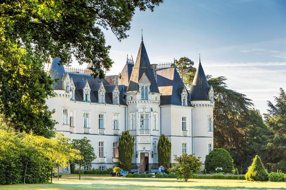 fairytale castle chateau in vitre brittany france