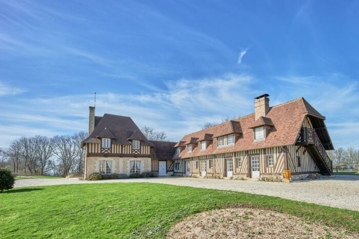 authentic French farmhouse cabourg normandy