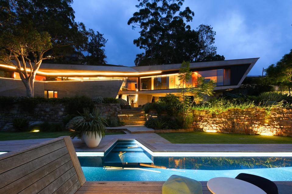 castle cove sydney modern home