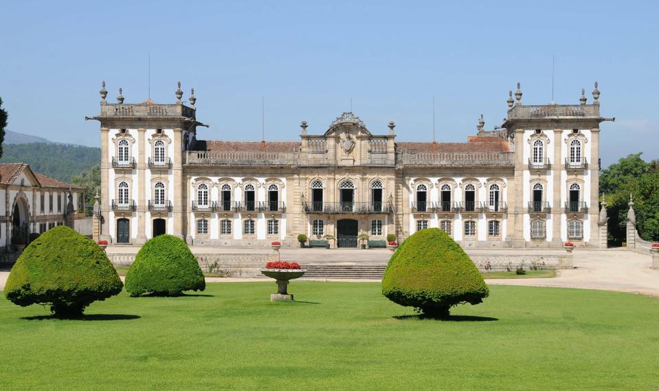 brejoeira palace in portugal spain
