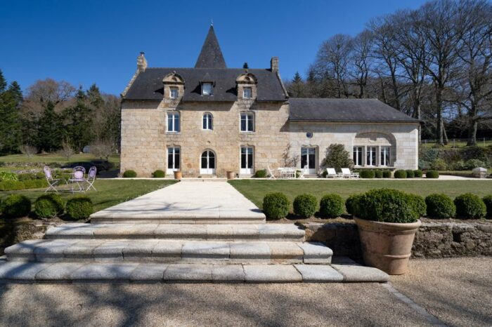 brittany france chateau was once a stoppover for pilgrims
