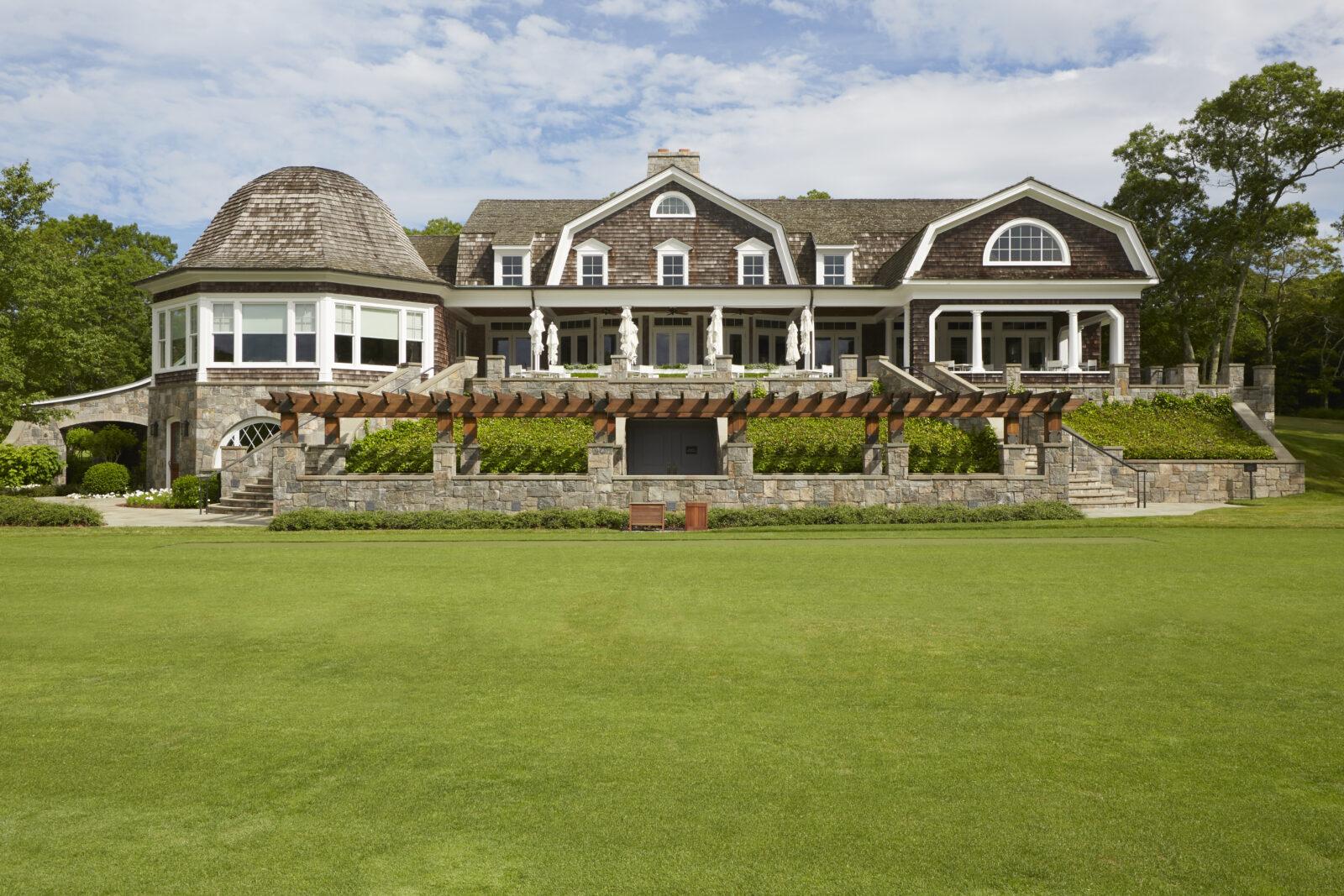 east hampton golf club shingle style architecture