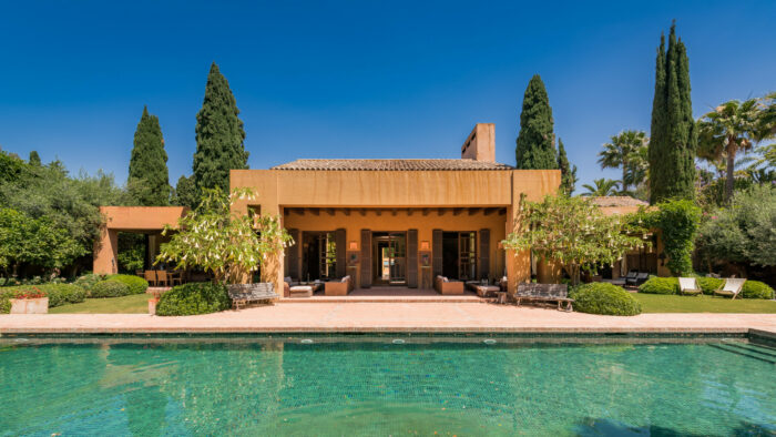 villa style home in san pedro de alcantara spain